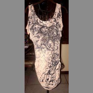 Arden B Peek - aboo short sleeve tunic dress